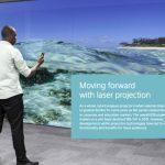 Zukunftstechnologie Laserprojektion