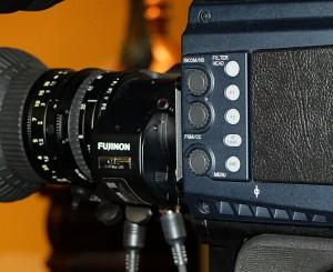 Via PL-Mount lassen sich Cine-Objektive verwenden.