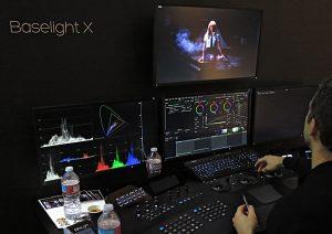 Filmlight, Baselight X, Grading