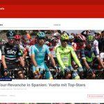 La Vuelta: Eurosport baut Live-Berichterstattung aus