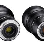 85/14 mm Samyang-Objektive für Canon EF-Mount