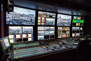 UHD-OB von CTV mit Sony-Mischer