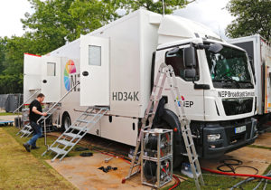 Übertragungswagen HD34K von NEP