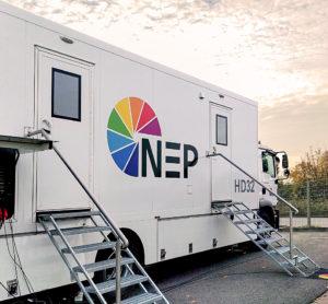 Übertragungswagen HD32 von NEP