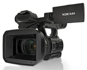 Camcorder Sony PXW-Z150, Frontansicht