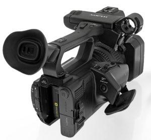 Camcorder Sony PXW-Z150, Totale von rechts hinten