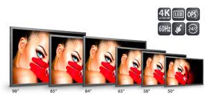 Eyevis UHD Touchscreens