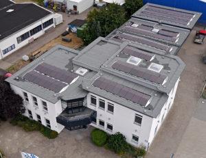 KST Gebäude Luftbild