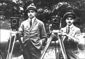 Arri wird 100 - Robert Richter (links) und August Arnold.
