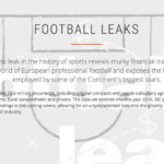 Korruption? Doping? Football Leaks? Whatever …