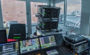 Panasonic Projektor, Elbphilharmonie