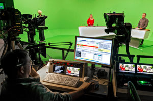 SWR, Studio E, Studiodirector, Virtual Set