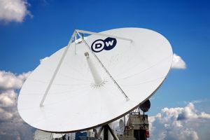 Deutsche Welle, Satellitenschüssel