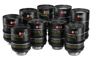 Leica Thalia, Objektive