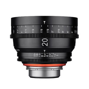 Xeen 20 mm, Objektiv, Samyang
