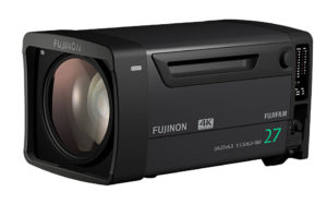 Fujifilm, 27fach-Studioobjektiv 4K-Broadcast-Objektive, UA27x6.5