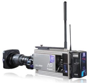 HD Wireless, Ikegami, Wireless-Kamera-Setups