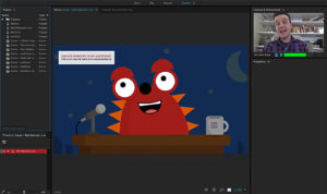 Adobe-Tools, Character Animator, Screenshot