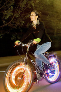 Monkey Light, Fahrrad