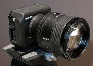 Sony Professional Solutions, NAB2017, Kamera