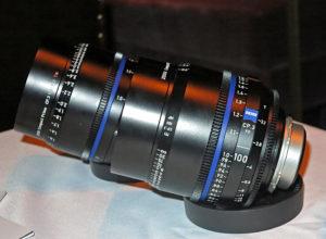 CP.3, Objektiv, 100 mm