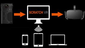 Scratch VR Share-Funktion