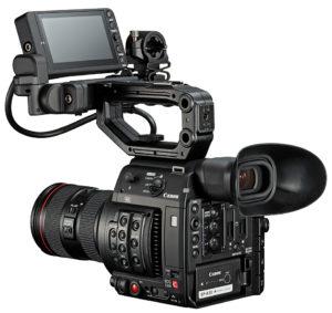 Canon C200, Kamera