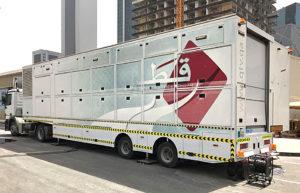 Qatar TV, Ü-Wagen, Doha
