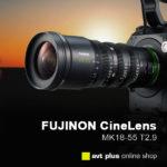 Fujinon MK18-55mm T2.9 mit E-Mount