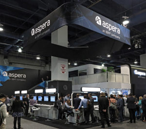 Aspera, Cloud, NAB2017, Live-Streaming-Funktionalität.