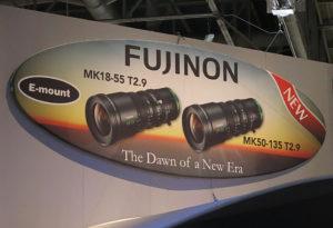 Fujinon, NAB2017, Schild, E-Mount