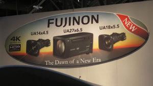 Fujinon, NAB2017, Schild