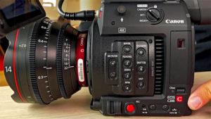 Canon, Kamera, C200
