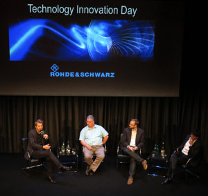 Rohde & Schwarz, Technology Innovation Day, Podium