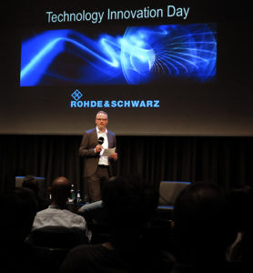 Rohde & Schwarz, Technology Innovation Day, André Vent