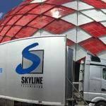 TV Skyline beim Confed Cup 2017