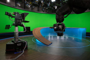 BR, Rundschau, Virtual Set