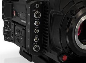 Canon, C700, Kamera, Buchsen
