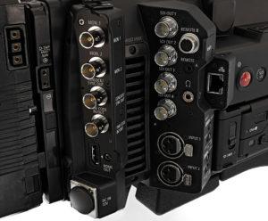 Canon, C700, Kamera, Anschlüsse, Buchsen