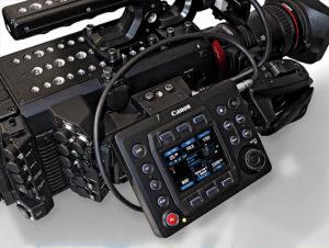Canon, C700, Kamera, Bedienpanel