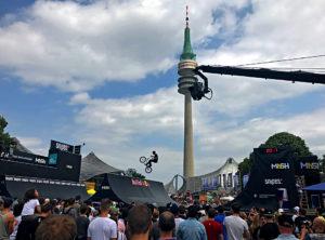 Munich Mash 2017, TV Skyline, BMX