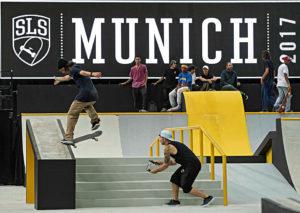 Munich Mash 2017, TV Skyline, Skateboard, GoPro