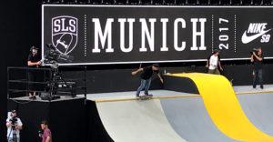 Munich Mash 2017, TV Skyline, Skateboard