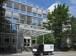 BR, Freimann, Gebäude