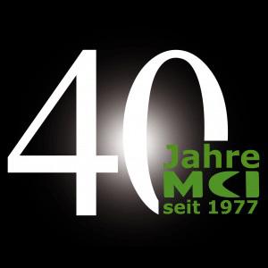 MCI, Logo, 40 Jahre