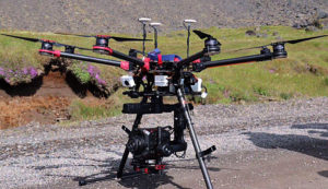 Panasonic, EVA1, Demodreh, Island, Drohne