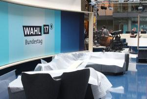 Bundestagswahl, Wahlstudio ARD