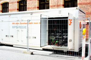 Bundestagswahl, Regie-Container