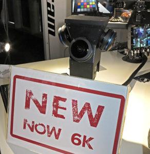 Naked Eye S4, Kamera, Indiecam, 6K-VR-Kamera