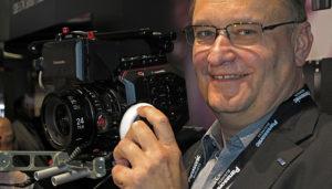 Panasonic, EVA1, Robert Trebus